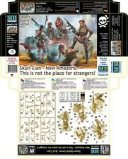 """1/35 Skull Clan - New Amazons """"This is Not the Place for Strangers!"""" (5 figures)"""