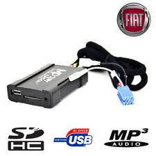 Boitier USB SD AUX MP3 Fiat Punto 500 Multipla Bravo Panda Qubo Idea Fiorino EVO