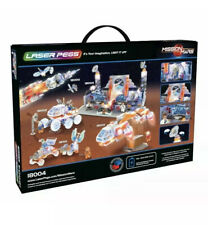 Laser Pegs Mission Control Light-Up Building Block Playset 400 Piece Brand New