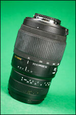 Sigma DG Macro 70-300mm F4-5.6 AF Telephoto Zoom Lens for Nikon With Front Cap.