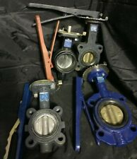 (4) Nibco Butterfly Valves (2) 3