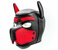 Doggy Dogplay Maske Puppy Petplay Rollenspiel Sex Toy Spielzeug Fetisch Knebel