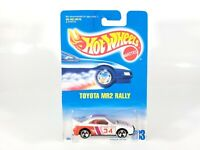 Hot Wheels Toyota MR2 Rally #233 NEW NOC w/ Protecto 1/64 Diecast