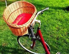 Hundefahrradkorb lenkerkorb Einkaufskorb Transportbox Weide Hunde lenker Vorne