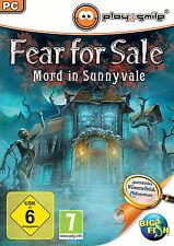 FEAR FOR SALE * MORD IN SUNNYVALE * WIMMELBILD-SPIEL  PC CD-ROM