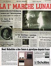 PUBLICITE  1974   SCHOLTES   four à pyrolyse depuis 5 ans