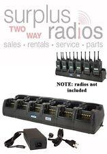 12 UNIT RAPID GANG CHARGER MOTOROLA RADIOS CP150 CP200 CP200D PR400 EP450