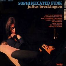 JULIUS BROCKINGTON Sophisticated Funk TODAY RECORDS Sealed Vinyl LP