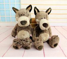 Plush toy stuffed doll NICI cute forest animal Wolf Valentine birthday gift 1pc