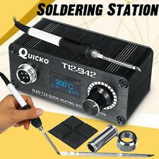 T12-942 Mini OLED Digital Soldering Station T12-907 Handle +T12-K Tip HU