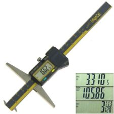 "Double Hook Depth Caliper 6"" ABSOLUTE ORIGIN Electronic Digital Groove Gauge"