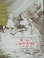 Boswell's London Journal, 1762-1763 by Boswell, James