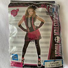 Monster High Halloween Costume Fiercesome T-shirt Dress Size  8-10