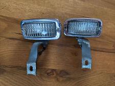 Hella Chrome Backup Lamps Lights Porsche 356 Vw Beetle Karmann Ghia
