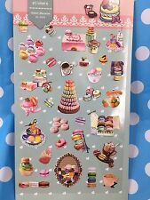 Macaroons High Tea Wedding Party Paper Stickers Scrapbook diary Cardmaking DIY