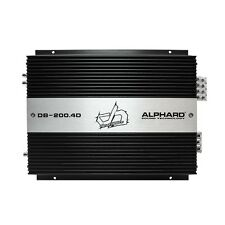 Alphard Sound Car Audio Deaf Bonce DB-200.4D Class D 4 Channel Amplifier