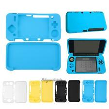 Silicone Cover Skin Case Set for 2017 New Nintendo 2DS XL /2DS LL Game Console