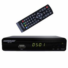 KORAMZI CB-100 HDTV Digital TV Converter Box ATSC With USB DVR Recording and ...