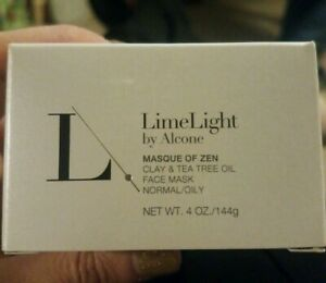 LimeLight by Alcone Masque Of Zen Face Mask Clay & Tea Tree Oil Normal/Oily 4 Oz