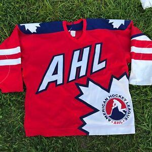 AHL Rare CCM Hockey Jersey Canada American Hockey League 🇨🇦 Htf Sz 54
