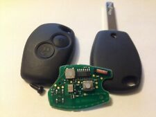 Renault Clio Trafic 2 Button Remote key fob