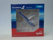 """Herpa Wings Boeing 757-200 Icelandair """"80 Years of Aviation"""" - 531108 - 1:500"""