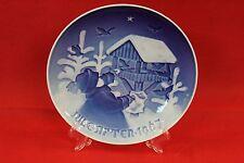 B&G Copenhagen Porcelain Jule-After-1967 Collector Plate