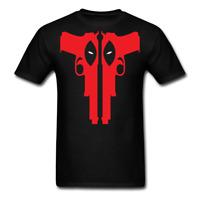 Gunslinger Deadpool Funny Superhero T-shirt Size S-5XL