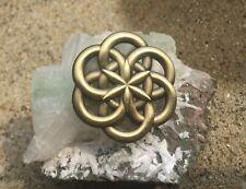 Atom Seed Of Life Sacred Geometry Lapel Pin
