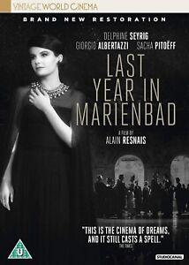 Last Year in Marienbad Blu-Ray Brand New 2018 Edition