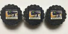 Yankee Candle BERRYLICIOUS LOT OF 3 TARTS WAX MELTS HTF FRUIT SCENT