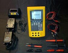 Fluke 744 Documenting Process Calibrator *SEE DESCRIPTION* w/ accessories PARTS