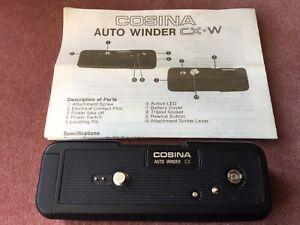 Cosina Auto Winder CX-W  for the Cosina/Praktika CX