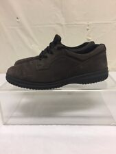 Ecco Soft Brown Leather Casual Shoes Womens Sz Euro 38 US 7.5