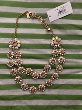 NWT Kate Spade Crystal Trellis Short Necklace