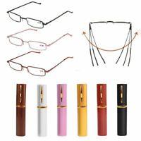 Frame Unisex Metal Reading Glasses Resin Eyeglasses Elderly Glasses Eyewear