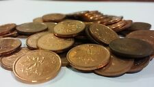 FULL ROLL 1999 CANADA ONE CENT PENNIES CIRCULATED