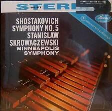 SHOSTAKOVICH - SYMPHONY NO.5 - MERCURY - SR90060 -  SKROWACZEWSKI - 180 GRAMS