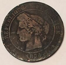 10 Centimes Cérès Bronze 1874k N1