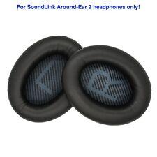 Ear cushion pads for Bose SoundLink Around-Ear 2 Headphones - Black