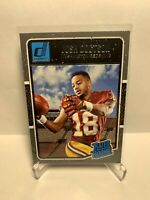Josh Doctson Rookie Card 2016 Donruss Rated Rookie #378 Jets