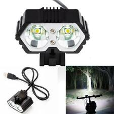 4000LM Zoomable LED Flashlight 3 Modes Torch Lamp Light Cycling Bike Head Light