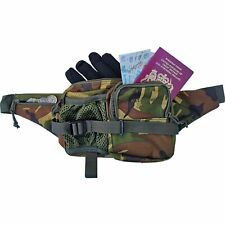 Waist Bum Bag Camo Design Woodland DPM Camping Hiking Holiday Pouch Pack Mil-Com