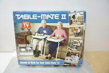 Table Mate II White Folding TV Tray Table Free Shipping