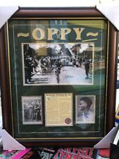 SIR HUBERT OPPERMAN OPPY SIGNED LTD. ED. COLLAGE TOUR DE FRANCE  Superbly Framed