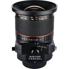 Samyang Tilt-und-Shift-Objektive mit Nikon F Anschluss