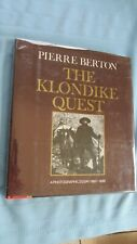 The Klondike Quest Hard Cover Alaskan Mining Book-Photographs-1890 9;s Gold Rush