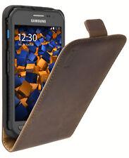 mumbi Leder Flip Case für Samsung Galaxy Xcover 3 Hülle Tasche Cover SCHUTZHÜLLE