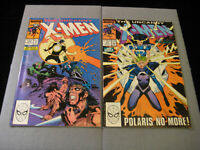 Uncanny X-Men #249 And #250 (1989 Marvel)