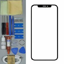 Apple iPhone X Replacement Screen Front Glass Replacement Repair Kit BLACK